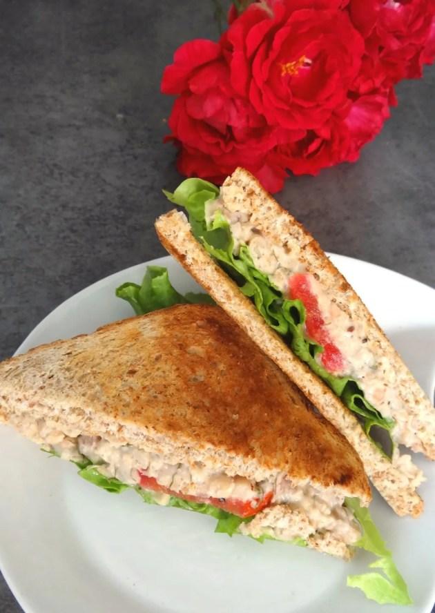 Club sandwich comme un thon mayo (végétarien) - Fleanette's Kitchen