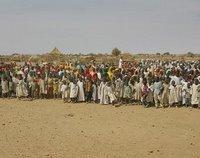 Grupo de Pessoas no Darfur