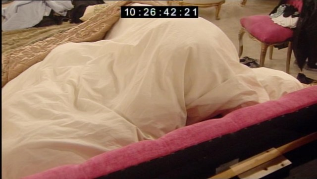 Lee Ryan and Casey Bathcelor talk in bed