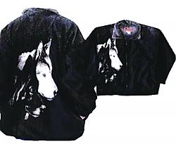 wolf jacket wolf shirt