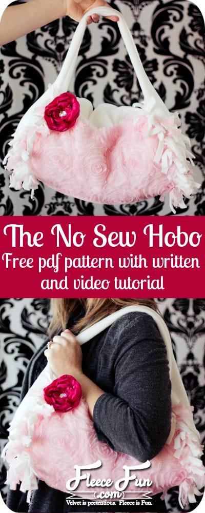 no sew purse tutorial