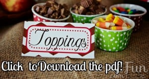 Free fall tent cards download