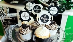 Free halloween cupcake pritnable feature