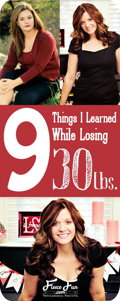 I love what she says for #3. Some very practical advice for weight loss!