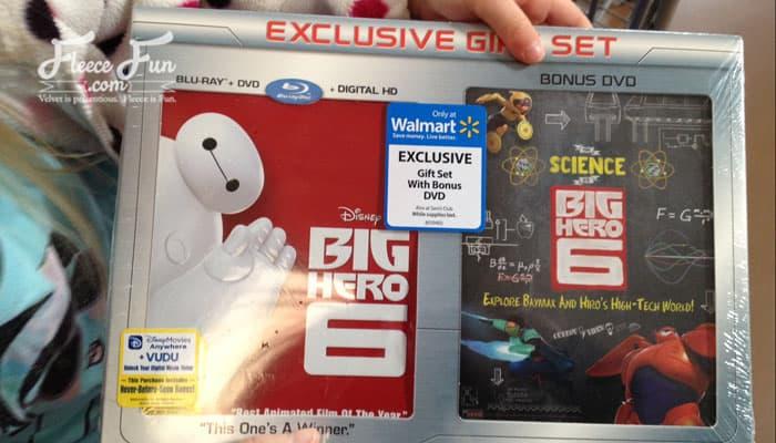 big hero 6 walmart package