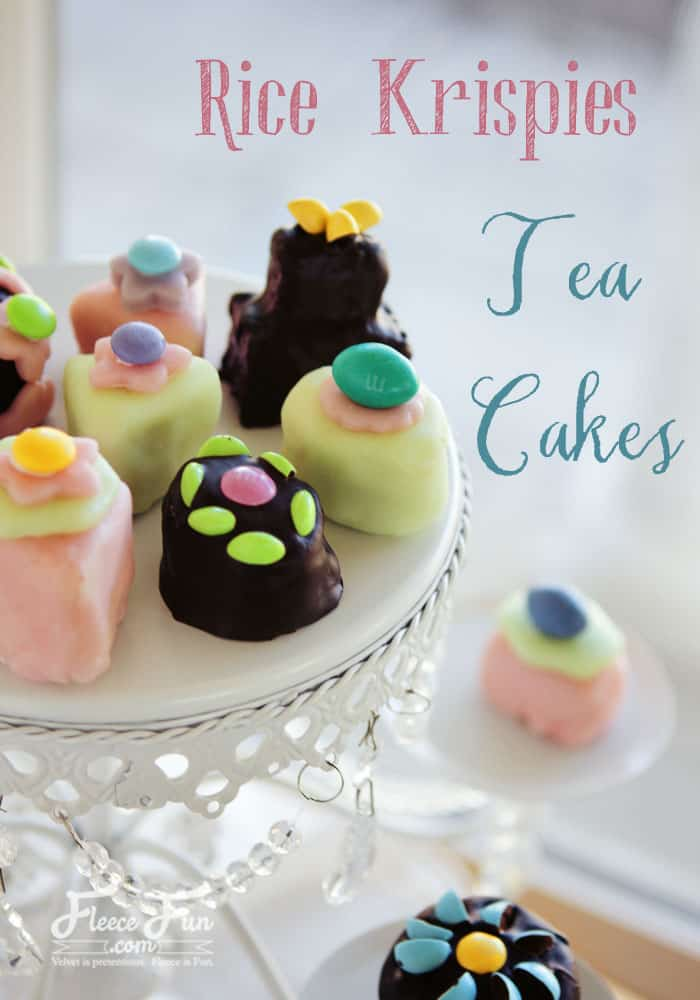 "I love how easy these ""Tea Cakes"" are to put together. And they look so fancy - you'd never guess what they're made from!"