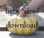 baby sizes dowloand