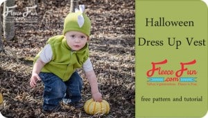 Oh my gosh! This child's fleece Vest pattern comes in sizes baby to 12 years and it's FREE! It looks really easy to sew too! Love this!!!