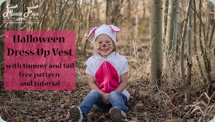 I love this idea for an easy ( and warm) Halloween costume, plus the pattern is FREE. Love!