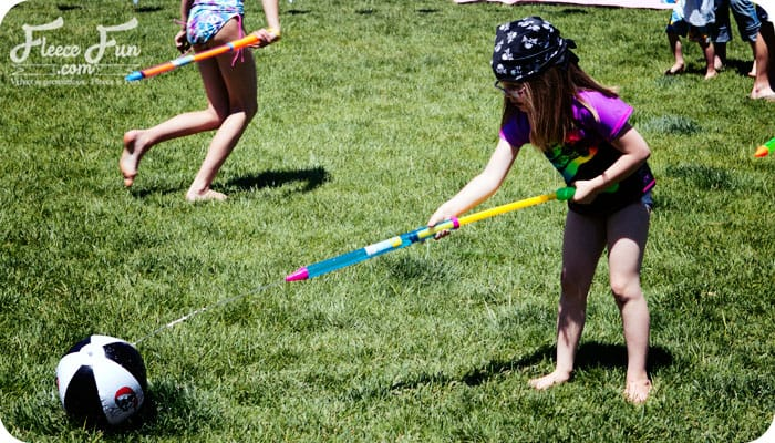 These 7 fun pirate party games are great ideas for any pirate gathering! I love all the ideas and several of them are perfect for a hot day! Love the DIY game ideas for kids.