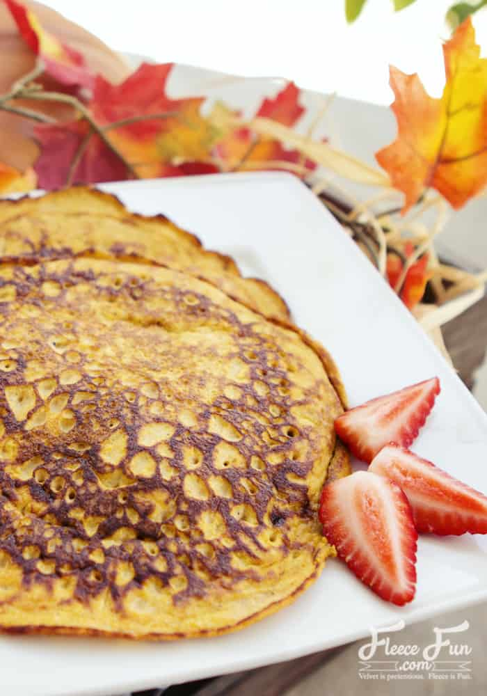 I love this paleo pumpkin pancake recipe! This sounds like it would be a great breakfast on a cold morning! Love this breakfast food idea.