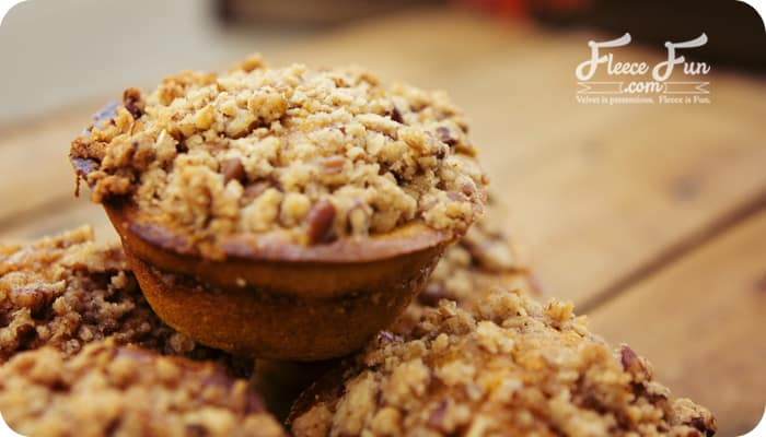 Wow - PUMPKIN cornbread muffins. What a perfect thing to serve with soup on a chilly autumn night!