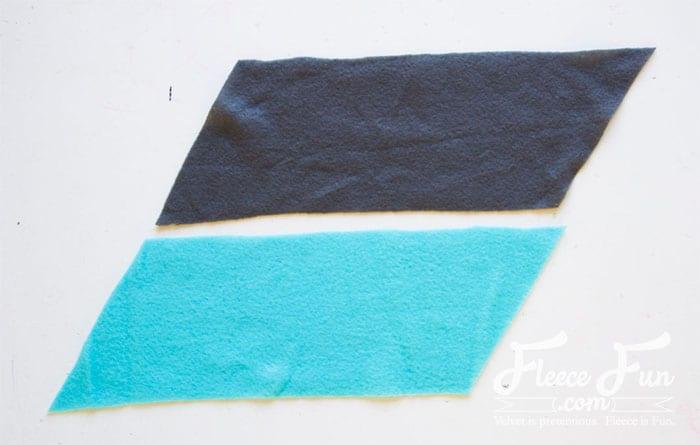 Colourblocked Cowl Tutorial - Pienkel for Fleece Fun 5wm