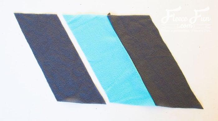 Colourblocked Cowl Tutorial - Pienkel for Fleece Fun 8wm