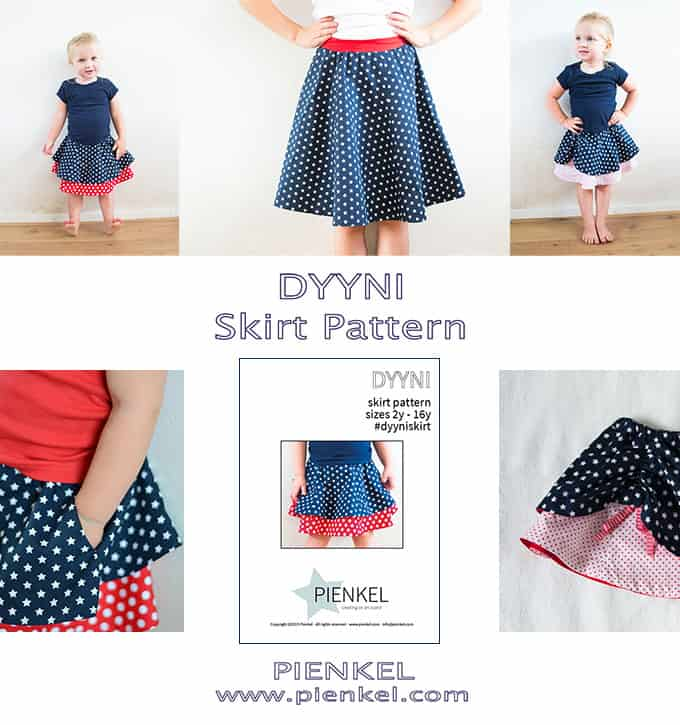 Pienkel DYYNI Skirt Pattern collage extended small