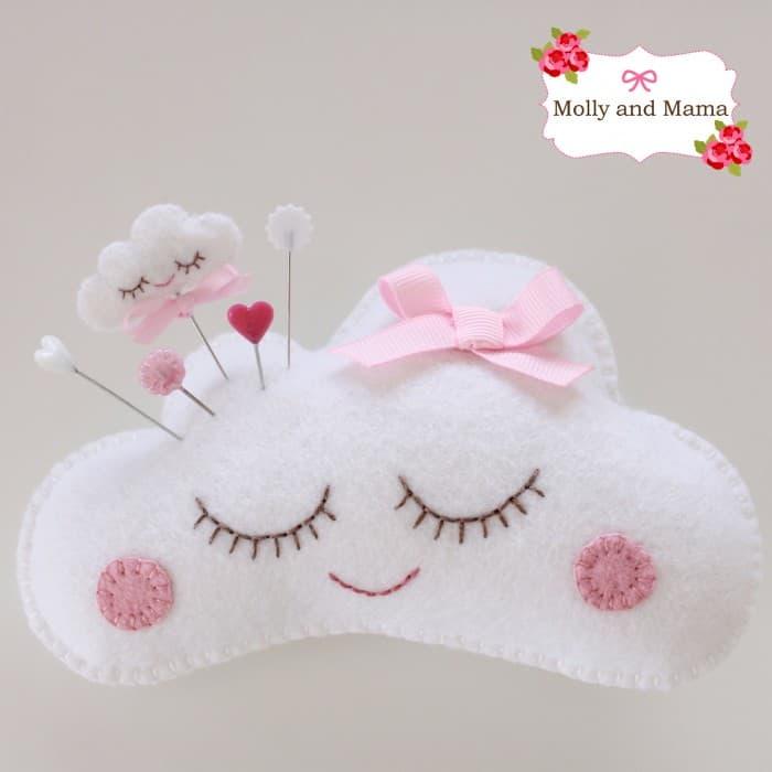 Sleepy Cloud Cushion Pattern