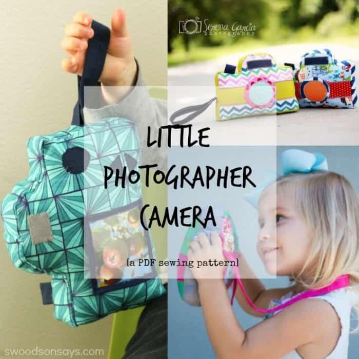 little photographer camera pattern