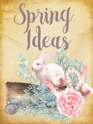 I love all the spring ideas on fleecefun.com! So many cure free patterns, printables and crafts! Love these DIY ideas.