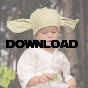 This Yoda Costume tutorial helpful it is. Comes with easy to follow step by step instructions and a free sewing pattern for this quick sew.