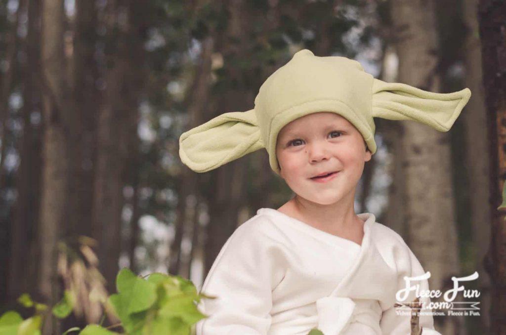 Star Wars Yoda Costume Tutorial with hat.