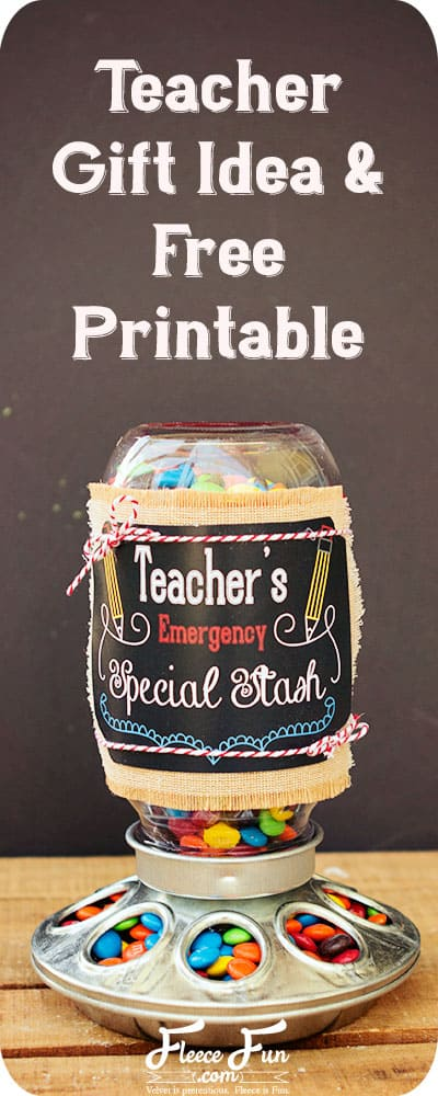 I love this teacher gift idea. This is perfect for the start of the school year. I love this easy DIY idea for a gift from a student.