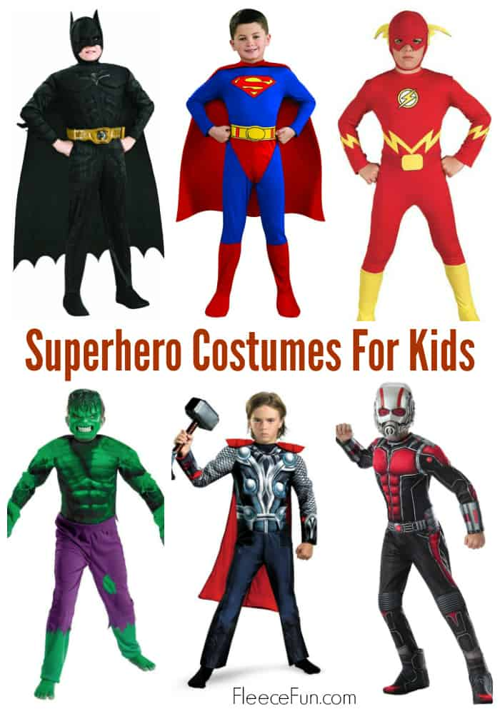 Who doesn't want to be a superhero?  Love all these easy links to find the perfect Halloween costume for my amazing kid.