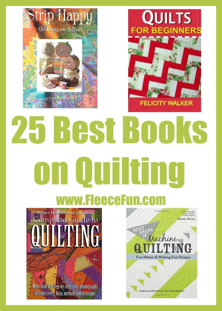 The Best Books on Quilting  Fleece Fun