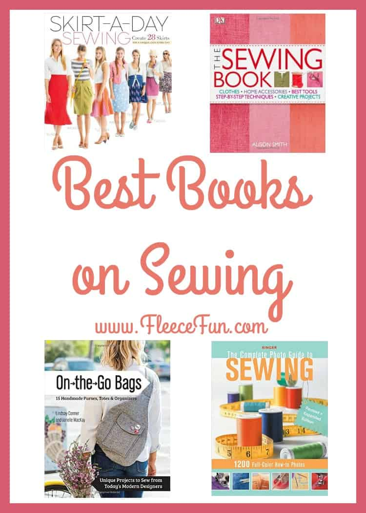 I love this collection of sewing books.