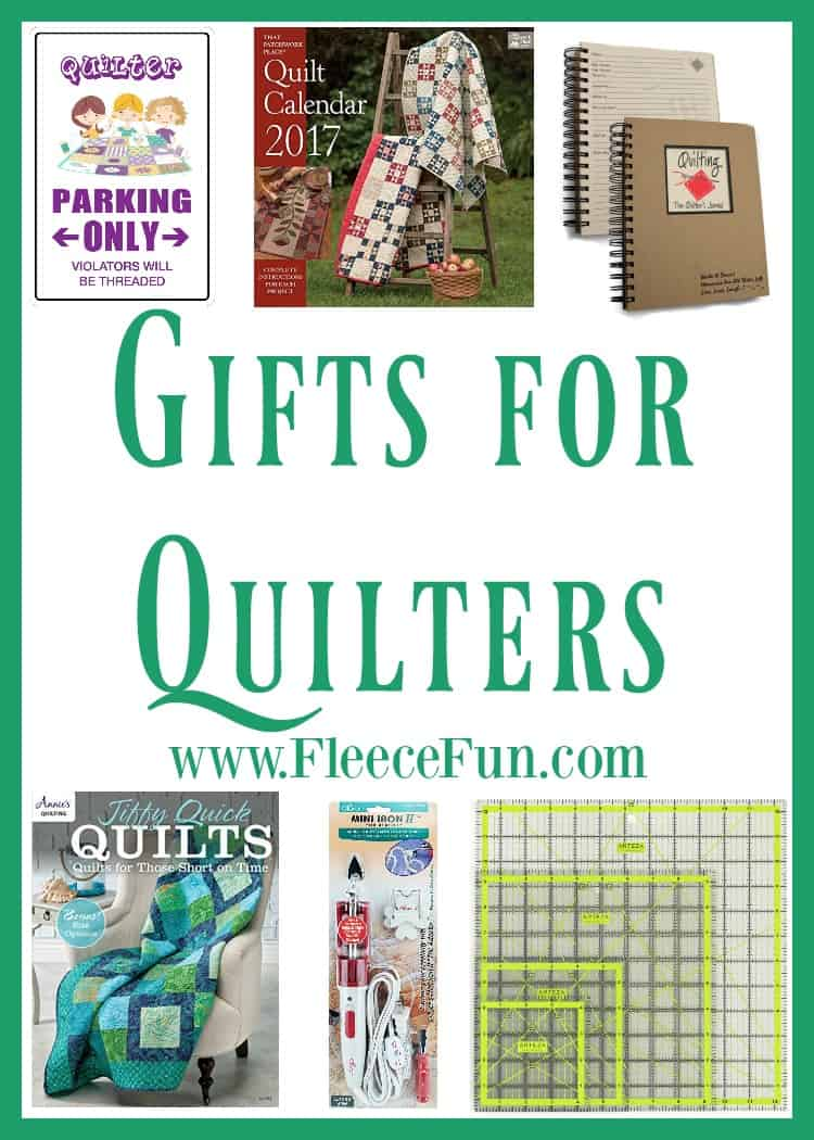 I love this collection of gift ideas for quilters!