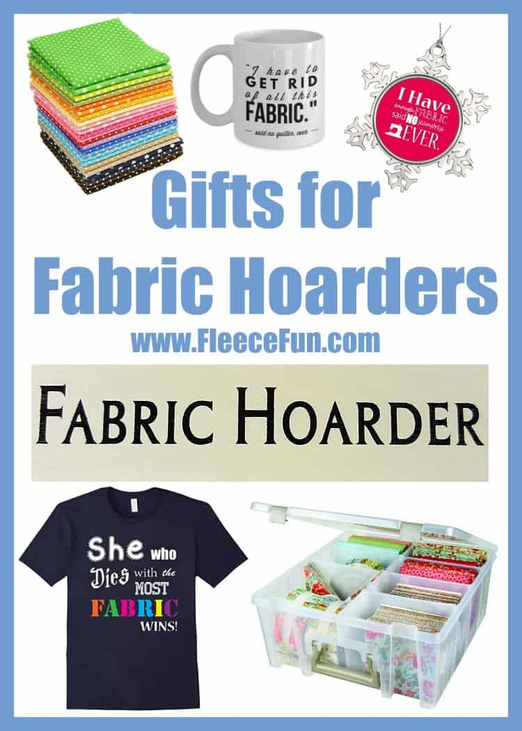 So many great gift ideas for a fabric hoarder!