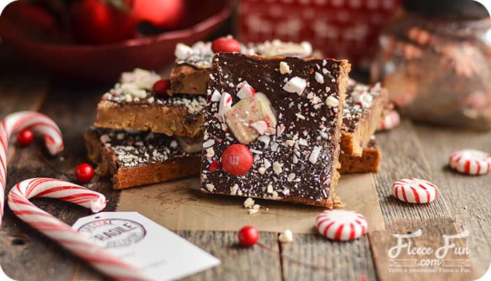 I love this peppermint blondies recipe. This is such a wonderful Christmas recipe for the holidays.