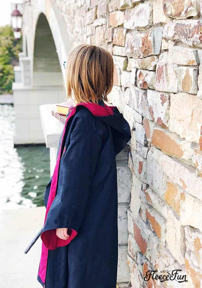This Harry Potter Robe Pattern Free is perfect for your little Hogwarts Student. With step by step instructions and pictures so easy, even a muggle could understand them. Download the free sewing pdf pattern so your little wizard or witch can be ready for the sorting hat.