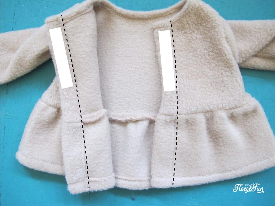 This adorable 18 Inch Doll Peplum Coat and Hat is a free pattern that is the perfect way to dress up your American Girl Doll. Easy Sewing project with great step by step pictures to make is easy.