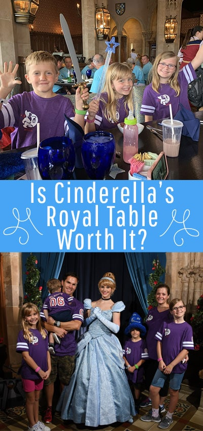 Is Cinderella's Royal Table Worth It? Learn the Pros and Cons to eating at one of Disney World's most famous restaurants. Get insider tips and a balanced idea if it's worth the time and money during your Disney Vacation. #disneyworldtipsandtricks #disneyworld #disneyworldplanning #disneyvacation #disneyvacationplanning #disneyvacationplanning2020 #cinderellasroyaltable