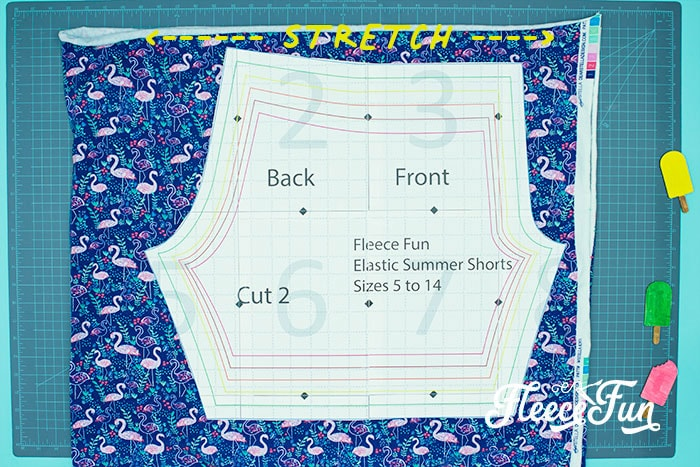 picture of shorts on the pattern. You can learn how to make shorts with this easy to follow step by step tutorial. Comes with a free PDF sewing pattern, with easy instructions.