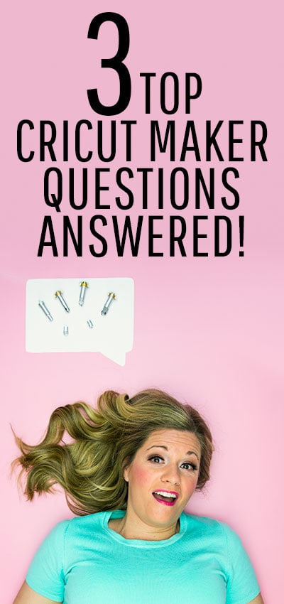 Get your Top 3 Cricut Maker Questions Answered! What Makes the Cricut Maker different from other machines? Is Design Space easy to use? What exactly can you make with a Cricut Maker? Get the detailed answers you need! #cricutmade #cricut #cricutmaker #cricutcreated #cricut #cricutmade #cricutexploreair #diy #handmade #cricutcrafts #cricutcreations #craft #crafts #cricutexplore #crafty