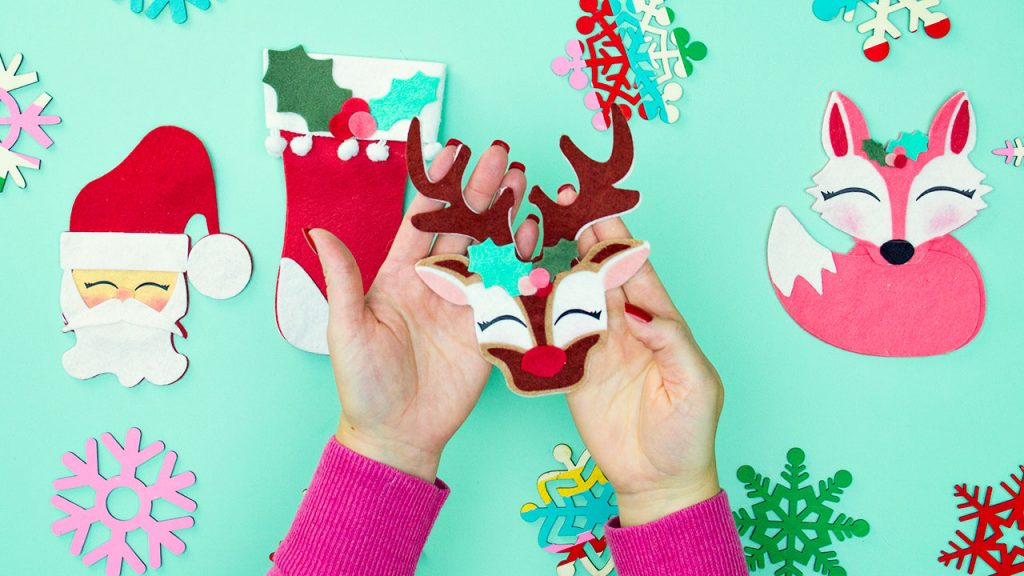 You can DIY amazing Felt Christmas Ornaments! With these free patterns and tutorials a handmade holiday is just a click away.