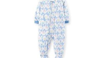 31ecf5fe8bea Carter s Baby Girls Footed Fleece PJ s (3T