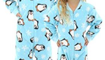 2d968ba87 SleepytimePjs Infant Fun Printed Footed Fleece One Piece Pajamas ...
