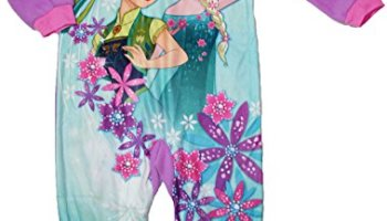 d6eed5240 Disney Little Girls  Toddler Frozen Anna and Elsa Cozy Fleece Pajama ...