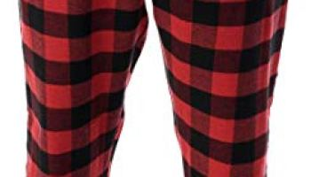 c35f0f0b2f2  followme Men s Flannel Pajamas - Plaid Pajama Pants for Men - Lounge   Sleep  PJ