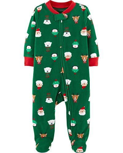 Baby Boys Frosty The Snowman Fleece Christmas Blanket Pajama Sleeper