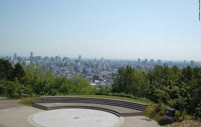 Asahiyama Memorial Park: Another Sapporo Night View