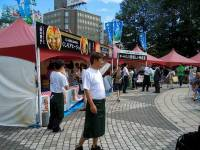 Sapporo Chef's Kitchen and Standing Bars at Odori 11 Cho-me in Sapporo Autumn Fest 2014