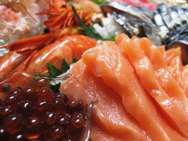 Coming To A Peak of Salmon in Hokkaido