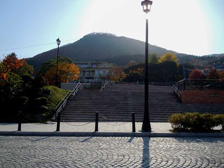 Motomachi Park in Hakodate