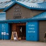 OTARU TIMES GARTEN at the warehouse street in Otaru