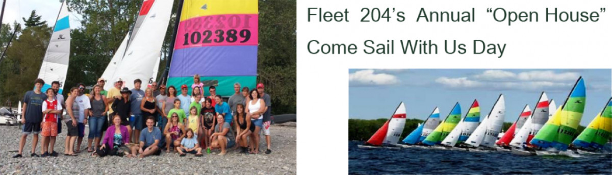 Fleet 204's Come Sail With Us Day