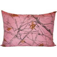 Carpenter Pink Camo 2 Pk. Standard Bed Pillows by