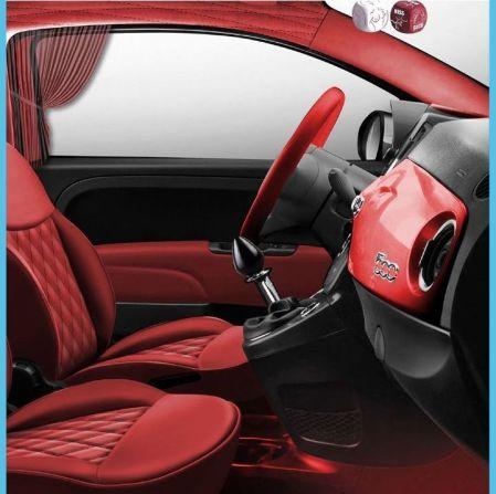 Fiat 500 kar_masutra Lapo Elkann interior